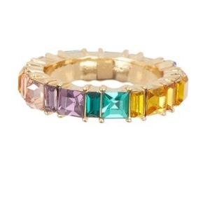NWT Baublebar Multi color ring- size 7
